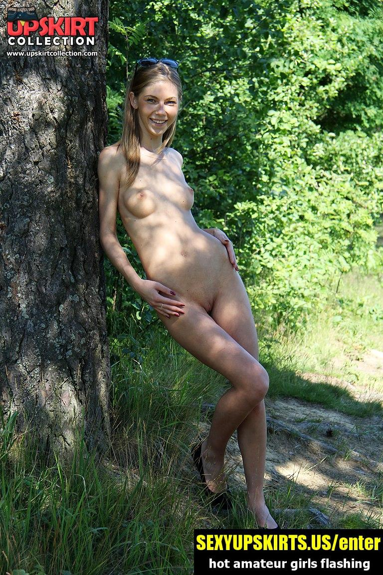 Hot nudism from delicious girls - sexy upskirt photos